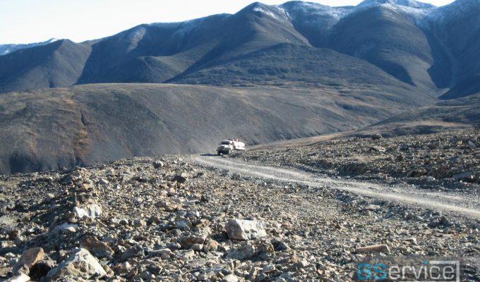 Двигаемся по горным перевалам