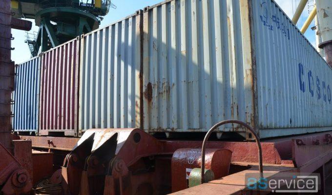 Сборные грузы в морских контейнерах