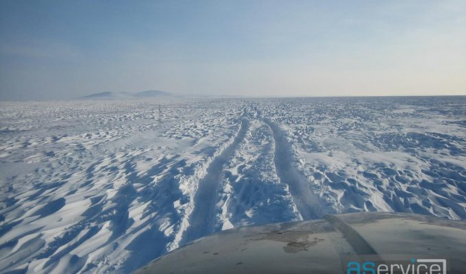 Зимняя дорога Певек-Билибино