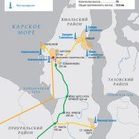 ж/д линия Обская - Бованенково - Карское